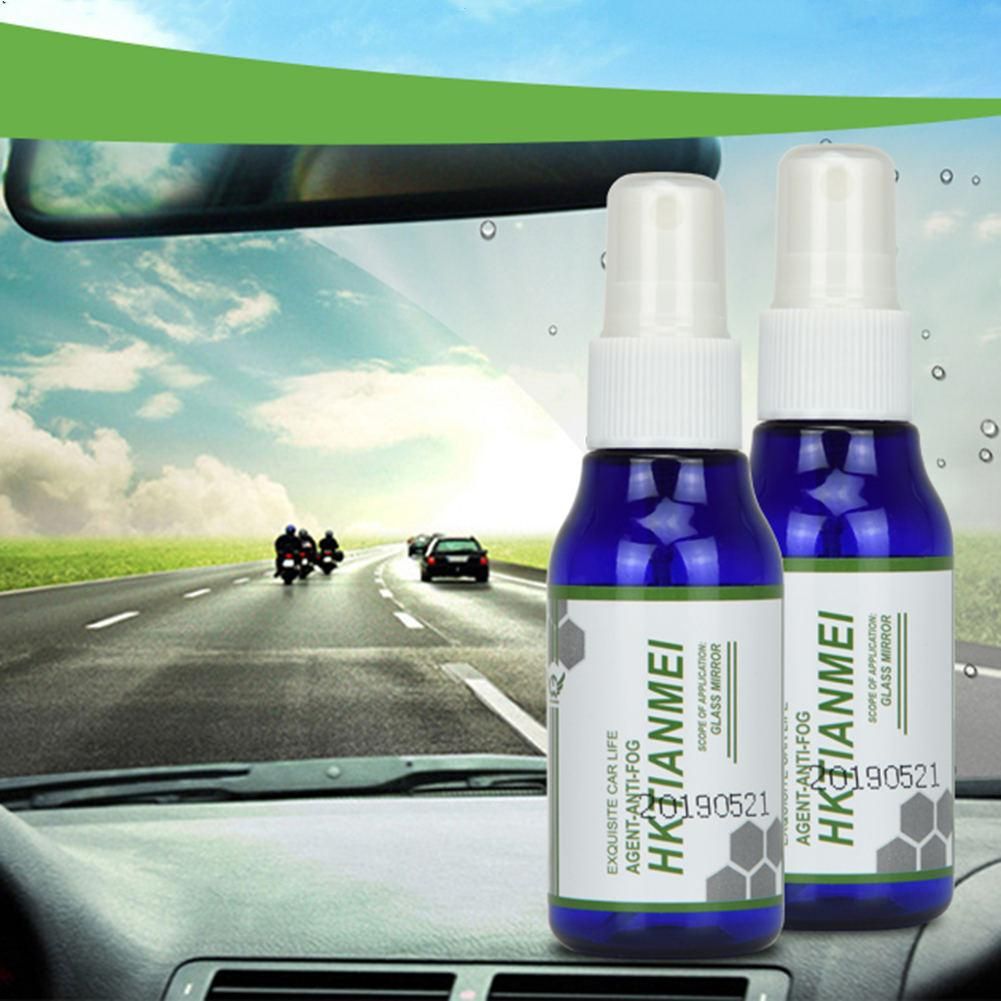 50mL Long Lasting Car Front Windshield Window Glass Anti-Fog Agent Auto Car Care Rear View Mirror Defogging Spray Liquid