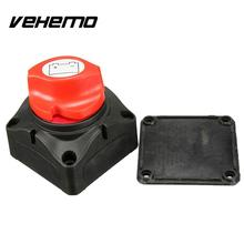 Vehemo Marine Control Knob Battery Isolator Protector Cut Off Power Kill Switch 12V/24V