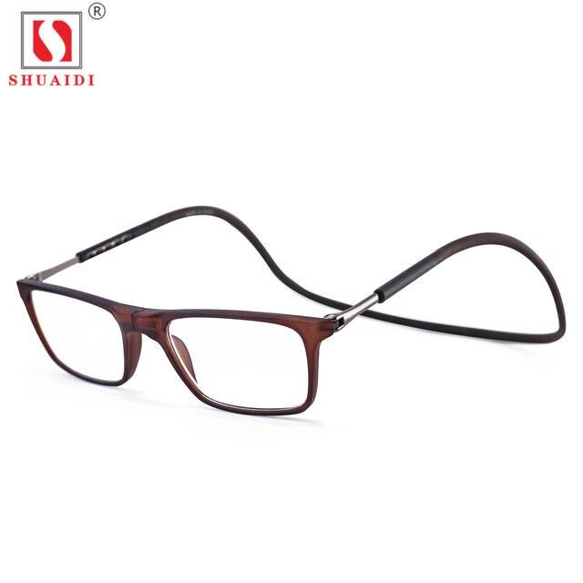 placeholder Atualizado Unisex dobrável Magnética Pendurado No Pescoço Óculos  Dobráveis Óculos de Leitura Das Mulheres Dos Homens 79b7113ef5