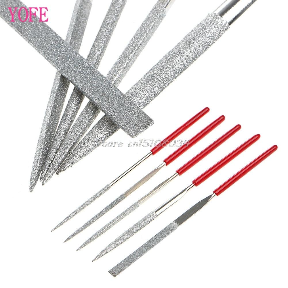 Dateien 6 Pcs 140mm Mini Metall Einreichung Raspel Nadel Datei Holz Werkzeuge Hand Holzbearbeitung Dateien Werkzeug Neue Drop Schiff