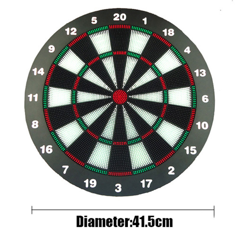 2016 New Arrival Darts Professional 12 Inch Fitness Equipment 6 Dart Flights International Flock Printing Dart Board Entertainment