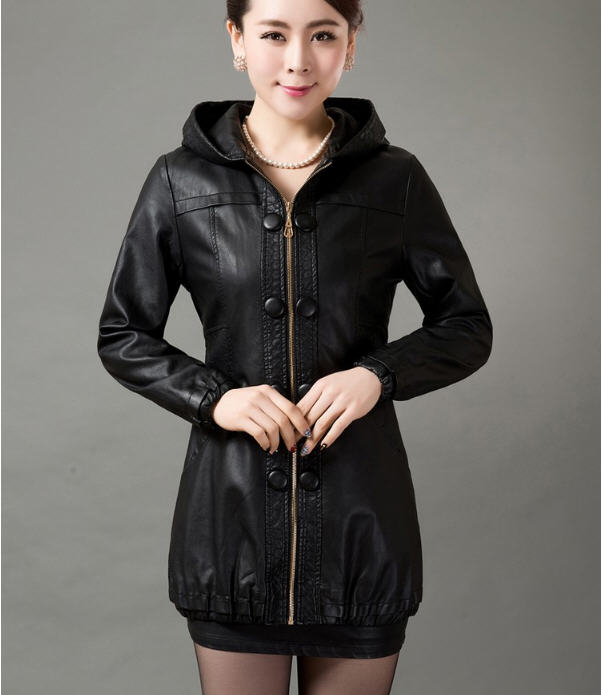 L-5XL Plus Size Leather Coat Women Leather Clothing Faux Sheepskin Autumn Jackets And Coats For Women Leather Jacket Coat A1512 1