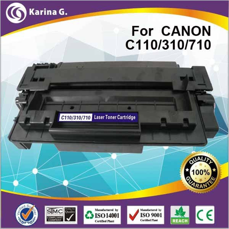 1x compatible toner for canon CRG110  CRG310  CRG510 CRG710 toner 100% BRAND NEW ,6000 page yield free shipping