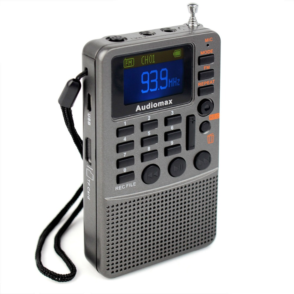 popular portable fm radio recorder buy cheap portable fm radio recorder lots from china portable. Black Bedroom Furniture Sets. Home Design Ideas