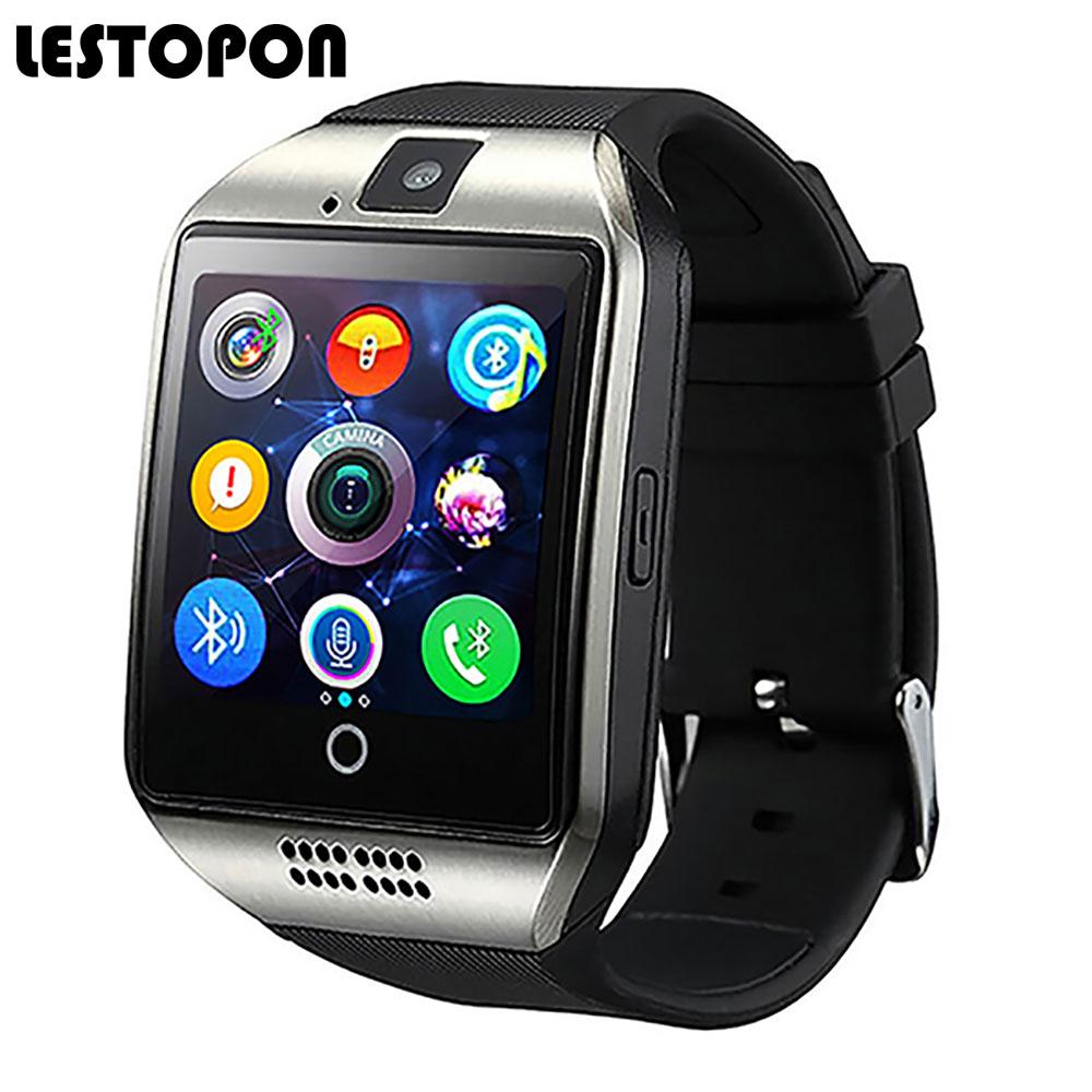 Lestopon Bluetooth <font><b>Smart</b></font> часы-телефон мода SmartWatch с Шагомер циферблат вызова мониторинг сна наручные Часы для iOS и <font><b>Android</b></font>