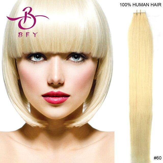 Tape Hair Virgin Hair 16inch 26inch Tape In On Skin Hair Extension