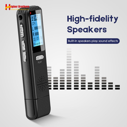 Mini Voice Activated Recorder Player Registrar Hidden Sound Microphone Telephone Recording Smallest Pen DSP Reduction Dictaphone
