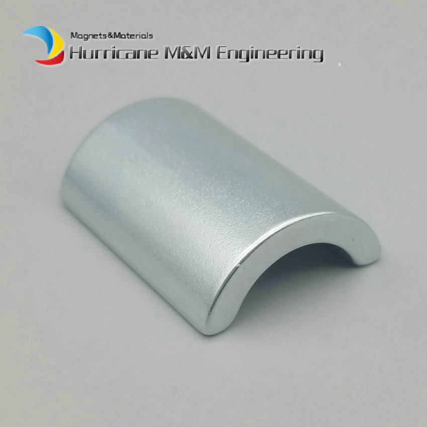 NdFeB Arc Segment OR11.75xIR8.05xL31.4xW22.5xH9xT3.7 mm Strong Water Pipe Filter Neodymium Water Soften Magnets 3600GS 2-60pcs