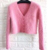 Knitted Cardigan mink cashmere women sweater cashmere coat cashmere sweater big size free shipping J671