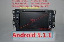 Hat lager 2 din Android 5.1.1 auto dvd gps für Chevrolet epica capativa tosca 3G, Wifi, bt, 7851, unterstützung DVR, OBD2, quad-core, 1024×600