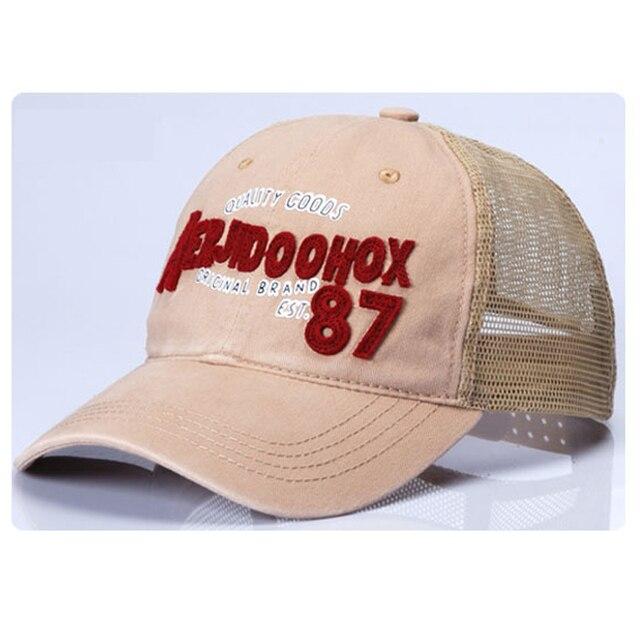 b57f996a48c Baseball cap mesh breathable thin cotton visor snapback hat mesh caps male  leisure hats tennis cycling
