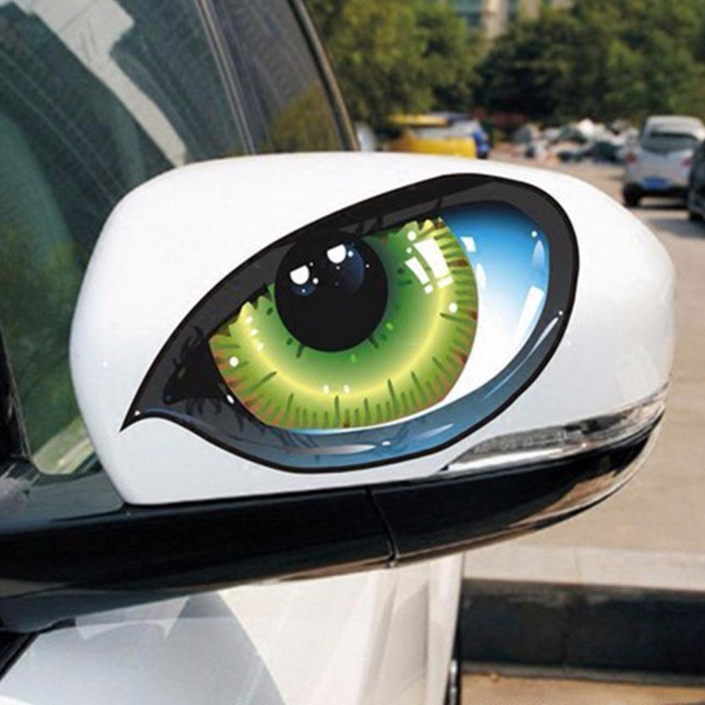 Car Stickers 2Pcs 3D Stereo Reflective Cat Eyes Car Sticker Creative Rearview Mirror Decal Universal Eyes stickers-in Car Stickers from Automobiles & Motorcycles on Aliexpress.com | Alibaba Group
