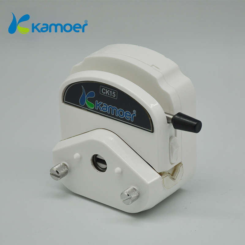 pump head for mini  Peristaltic Pump for filling machine with high Precision for micro electric water pump Kamoer CK15 (L) kamoer kcs mini peristaltic pump stepper motor 24v electric water pump