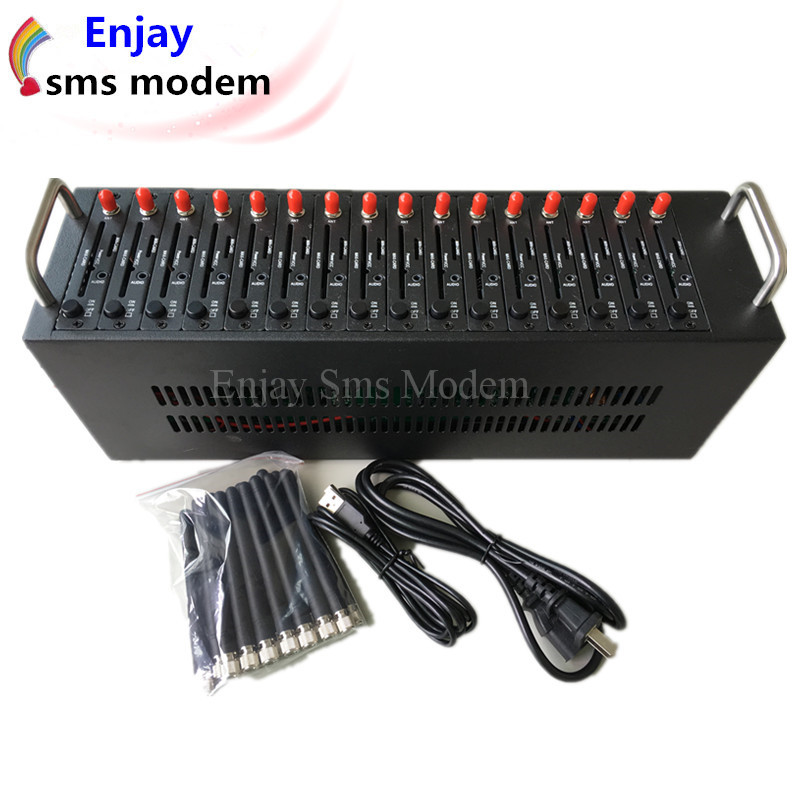 hot selling 16 port send sms textpdu message gsm wavecom q2403 modem pool send sms textpdu message