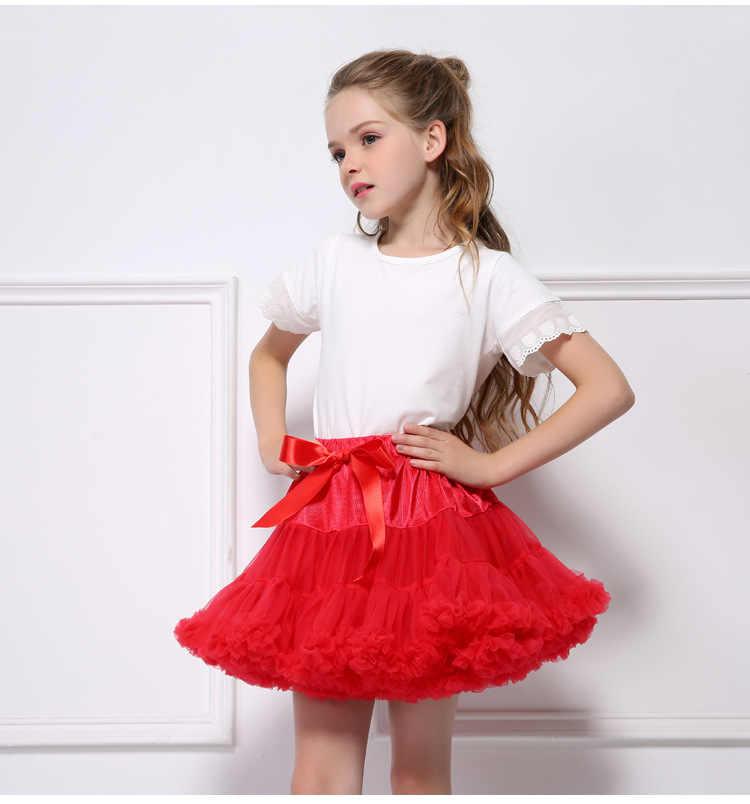 030111155 ... Kseniya Kids Baby Girl Skirts Children Toddler Tutu Skirt Dance Fluffy princess  Tulle Skirt Girls Girl ...