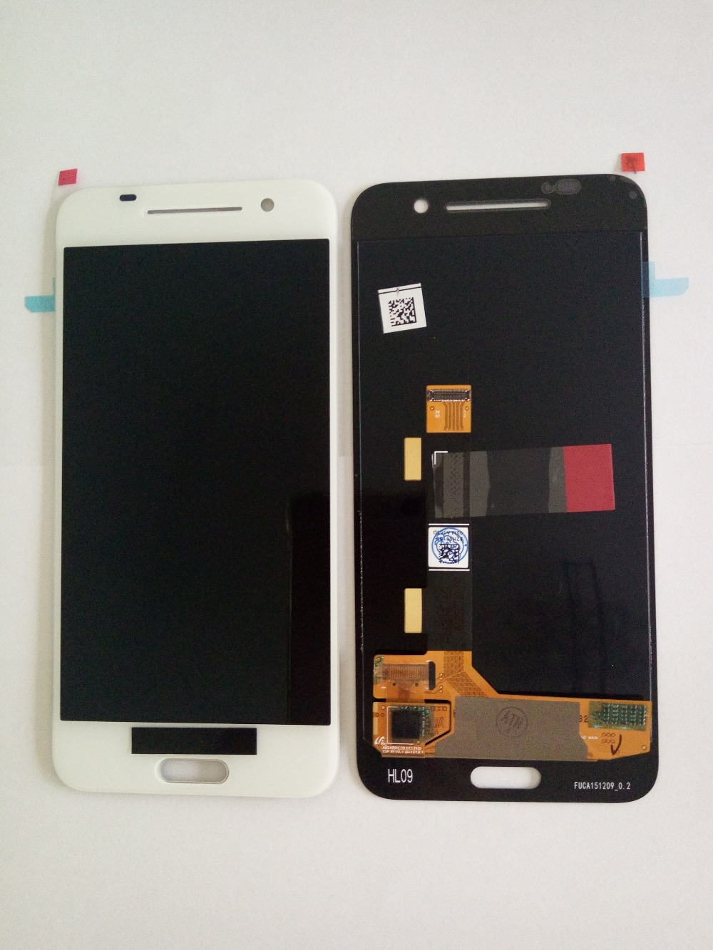 DHL Free Shipping For HTC One A9 LCD Display With Touch Screen Digitizer Assembly Aero A9W A9T A9D Replacement Parts Black/White for htc one mini lcd 601e m4 lcd display with touch screen digitizer assembly free shipping 100