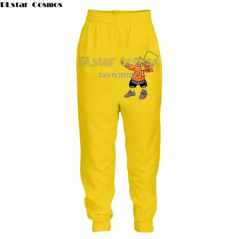 c1413e2630 PLstar Cosmos Cute cartoon style classic cartoon character Mens Womens casual  Pants Cartoon 3D Print pants Plus size S-5XL ~ Best Seller June 2019