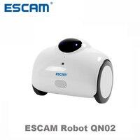 Escam QN02 Robota Inteligentny WIFI Kamera IP Kamera HD 720 P 1MP Baby Wireless Monitor Dotykając Interakcji Dwukierunkowy Dźwięk Android/IOS
