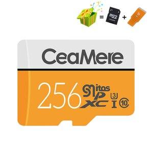 Image 3 - CeaMere מיקרו SD כרטיס 256 GB/128 GB/64 GB UHS 3 32 GB/16 GB/8 GB Class 10 UHS 1 4GB כרטיס זיכרון פלאש זיכרון Microsd משלוח Crad Reader