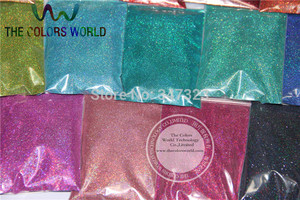 Image 5 - 24 Laser Holographic Colors 0.1MM  fine Glitter Powder for nail decoration and others DIY Accessories