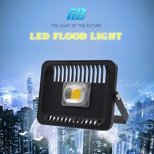 Image 2 - [MingBen] LED كشاف ضوء 100 واط 50 واط 30 واط 230 فولت IP65 مقاوم للماء CE ل ساحة حديقة المرآب الدافئة الأبيض الباردة الأبيض السفينة شكل ES RU CN