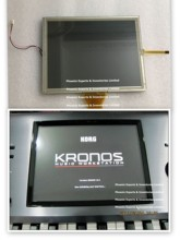 LCD SCREEN for Korg Kronos / Kronos 2 with Touch Screen Panel LCD Display UMSH 8240MD T
