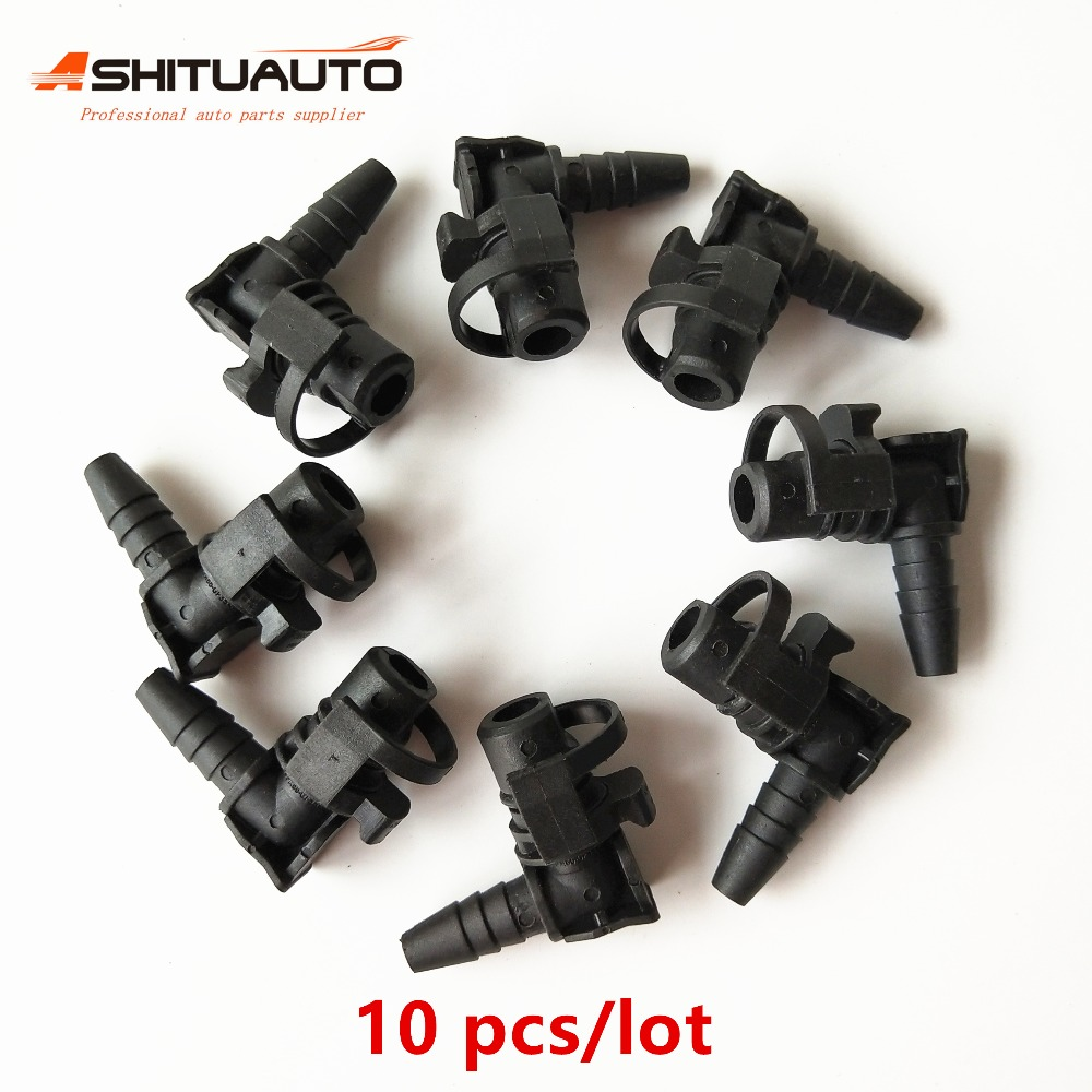 AshituAuto 10pcs Original Throttle Body Heater Inlet Pipe Connector For Chevrolet Cruze Sonic Epica Opel Astra
