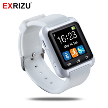 EXRIZU U8 Bluetooth Smart Watch Sport Health Fitness Bracelet Smartwatch Wristband Handsfree for Android iPhone Samsung