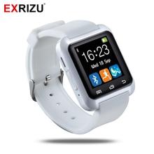 EXRIZU U8 Bluetooth Smart Watch Sport Health Fitness Bracelet Smartwatch Wristband Handsfree for Android iPhone Samsung Xiaomi