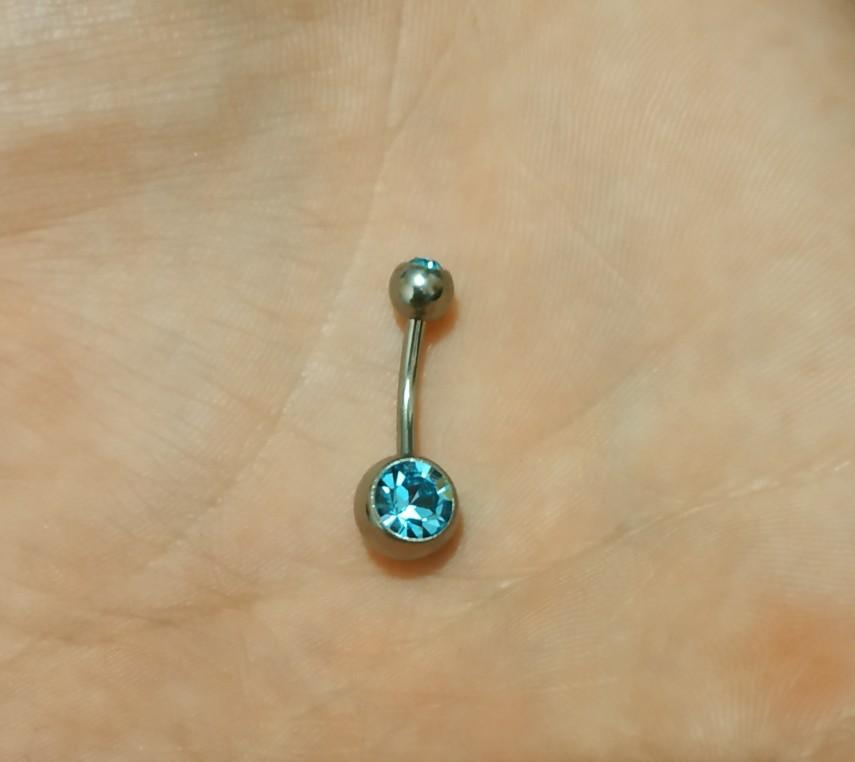 G23titan Titanium Navel Piercing Ring navelpiercing Medische Titanium - Mode-sieraden - Foto 4