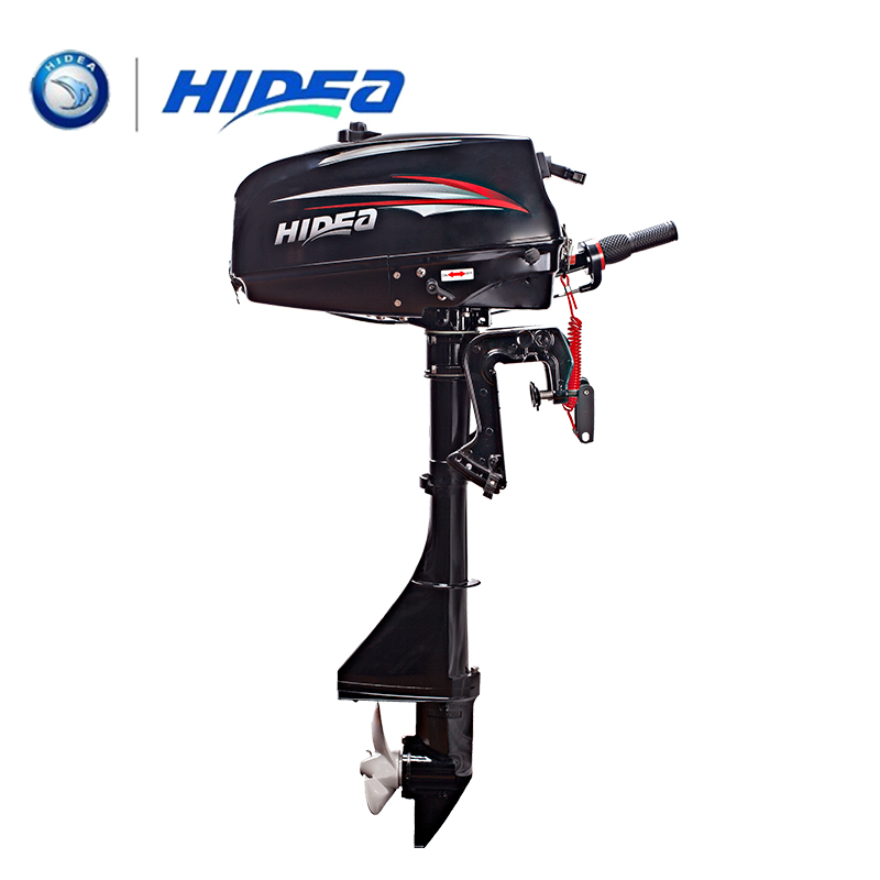 Hidea 2 Stroke 3.5hp Short Shaft Outboard Motor With Hand Startover  Marine Engine Boat Kayak