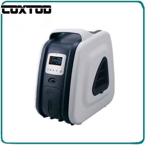 COXTOD New Designs LED Display 90% Oxygen Purity 5L Flow PSA Small Portable Oxygen Concentrator generator