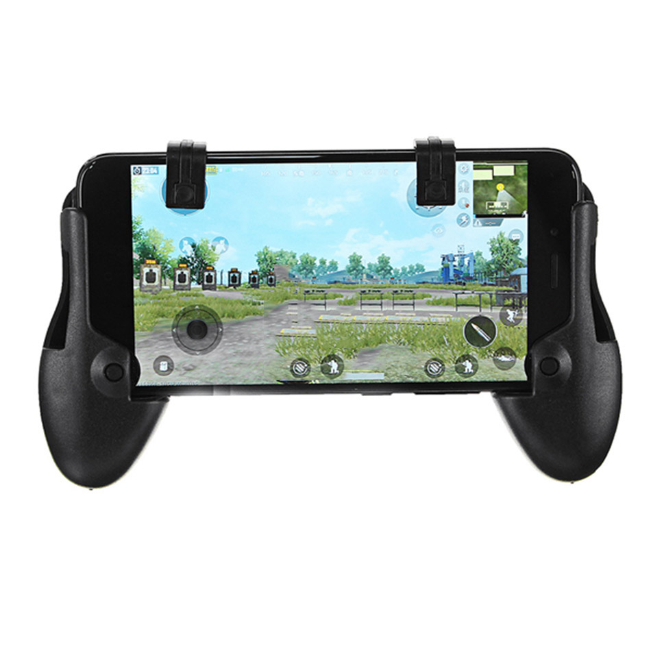 Hot Sale Bakeey Smart Phone Game Trigger Firebutton Joystick Handle Mobile Gamepad Controller Assist Tools For Accessorie