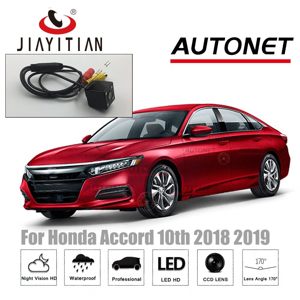 JIAYITIAN Rear View Camera For Honda Accord/Inspire 2017 2018 2019 Backup Camera/CCD/Night Vision/Reverse Camera Parking Camera
