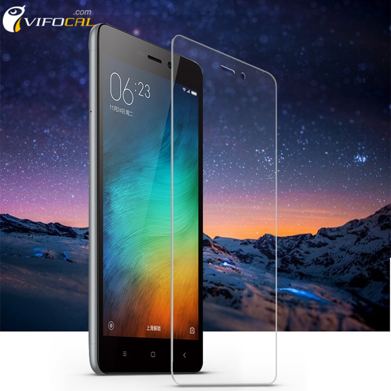Xiaomi Redmi 3S Tempered Glass 5.0 inch 9H 2.5D Premium Screen Protector Film For Redmi3 S hongmi 3S Pro Prime Redmi 3 Phone