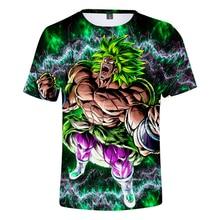 2019 print Dragon Ball Super Broly Anime 3D T-shirt Men Exclusive Fashion T-shir Men/Women Style Hot Short Sleeve T Shirts 4XL