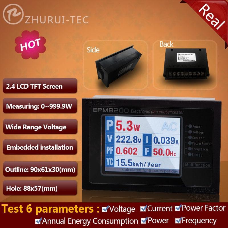 EPM8200 võimsusmõõtur / pinge voolu sagedus kwh digitaalpaneeli - Mõõtevahendid - Foto 1