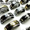 Проворачиваемые кольца из нержавеющей стали, опт, смесь, 20 шт./набор, привлекательные, бесплатная доставка - фото