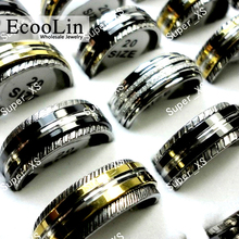 20Pcs Vintage Rotatable Styles Women Steel Ring For Women and Men Jewelry Lot Bulks LR052