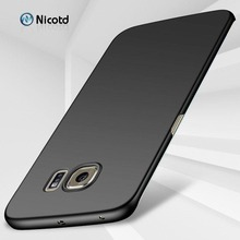 PC Case for Samsung Galaxy S6 Edge plus Nicotd Hard PC Matte Back Coque Phone Cover Cases for Samsung Samsung Galaxy S6Edge plus multifunctional pc material mirror surface phone cover case for samsung galaxy s6 edge