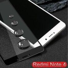 Xiaomi redmi note 4 стекло полное покрытие из закаленного стекла для redmi note 4×4 глобальный протектор экрана xiaomi redmi note 4 pro стекло 4x