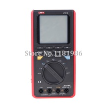 UNI-T UT81B Handheld Digital Wave Multimeter Oscilloscope Scopemeter Scope 8MHz 40MS/s AC DC Volt Amp Ohm Capacitance Hz Tester цена 2017