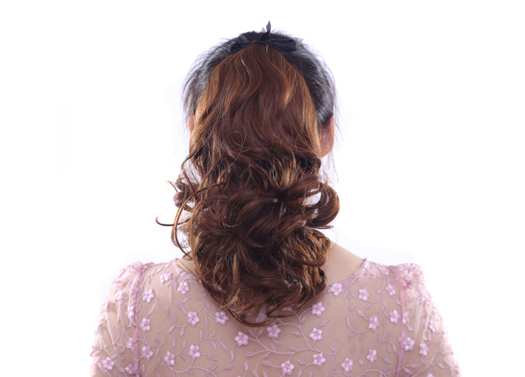 New arrival hairwear 100g 40cm hair jewelry extension synthetic curly hair accessories for fashion womens ponytails