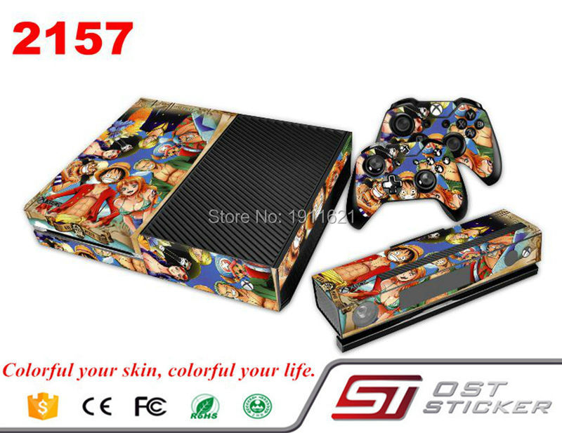 Colorful Vinyl Skin Sticker For XBOX 1 XBOX ONE X1 Console & Controller