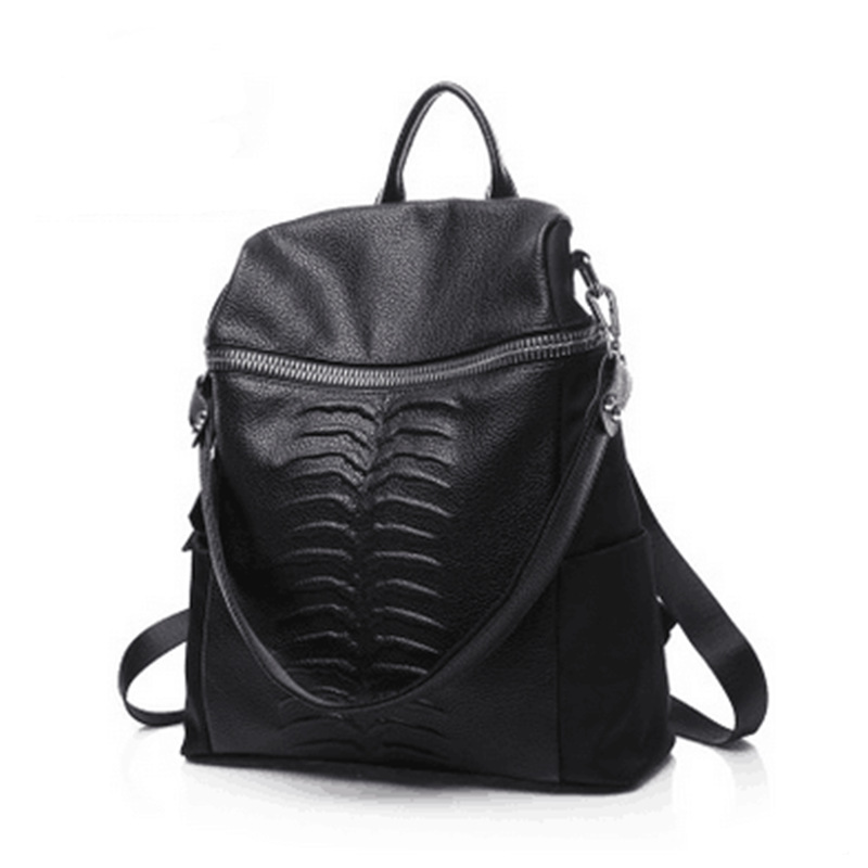 Backpack Women Genuine Leather Bag Women Bag Cow Leather Women Backpack Mochila Feminina School Bags for Teenagers Free Shipping vieline genuine leather women backpack famous brand lady leather backpack leather school bag free shipping