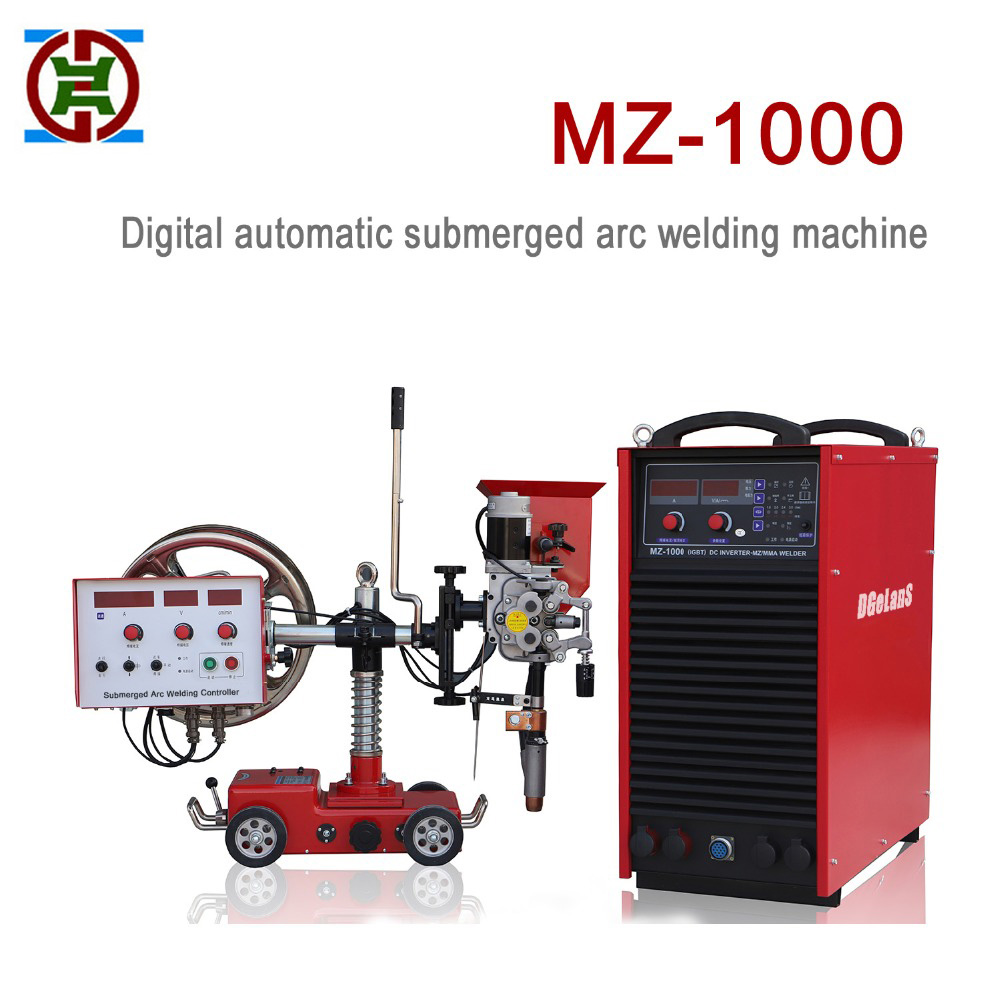 Totalmente automático máquina de solda a arco submerso DC MZ-1000