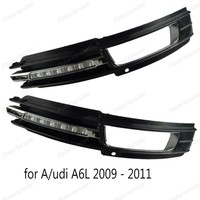 bright car DRL light Daylight Car LED Daytime Running light For A/udi A6 A6L 2009 2010 2011