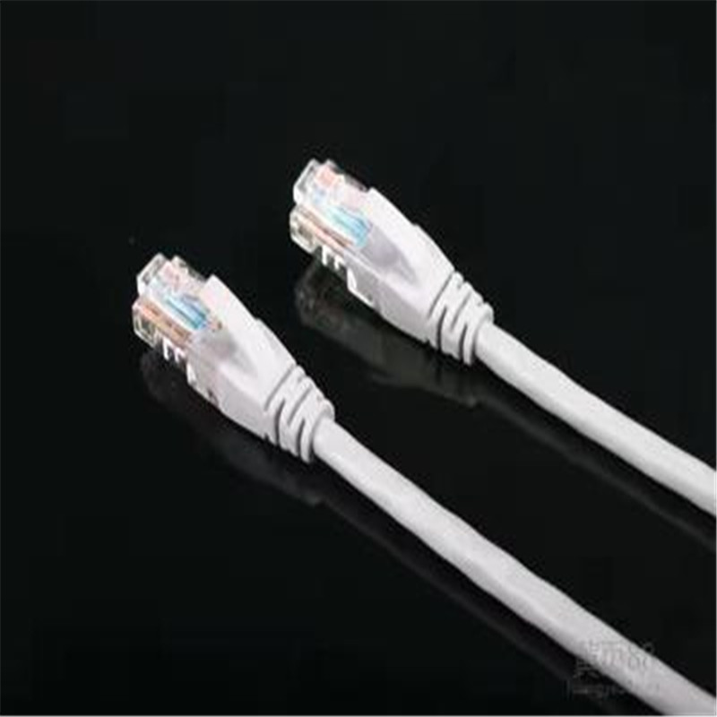 Finished font b network b font cable Category 5 5E twisted pair jumper 1 meter 2