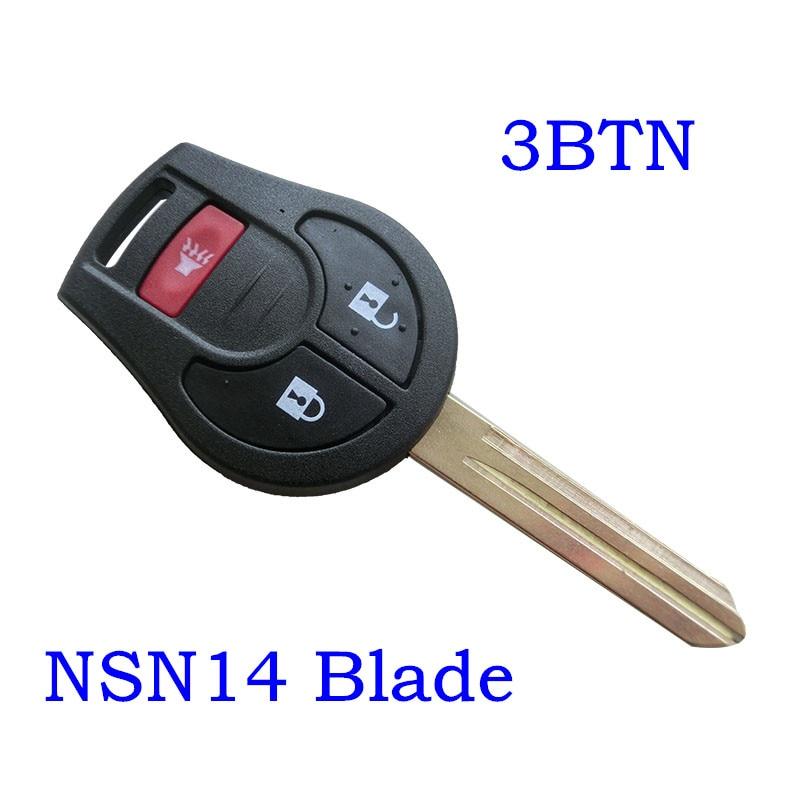 2/3/3+0/4 Button Remote Key Shell CWTWB1U751 For Nissan Cube Armada Rogue Versa Juke Keyless Entry Fob Transmitter