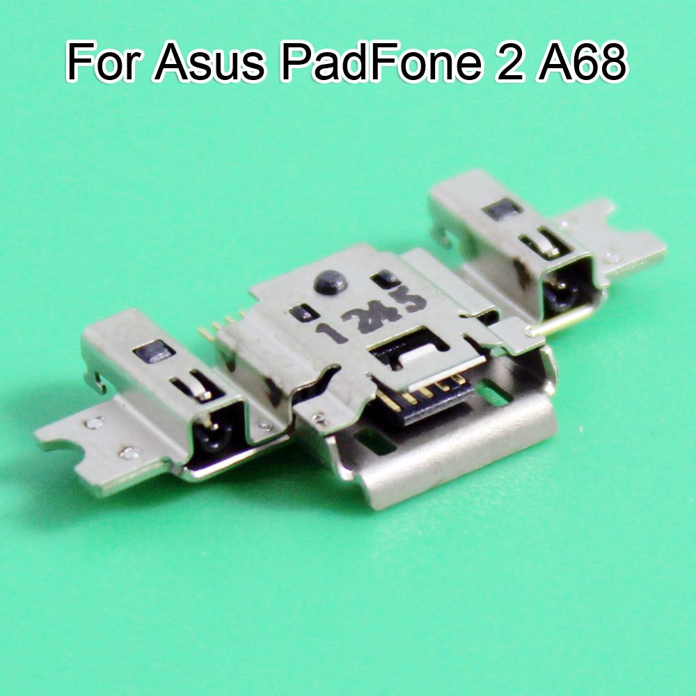 A68 usb jack Genuine micro USB Charging Port Connector socket plug dock charging port For Asus Mobile PadFone 2 A68